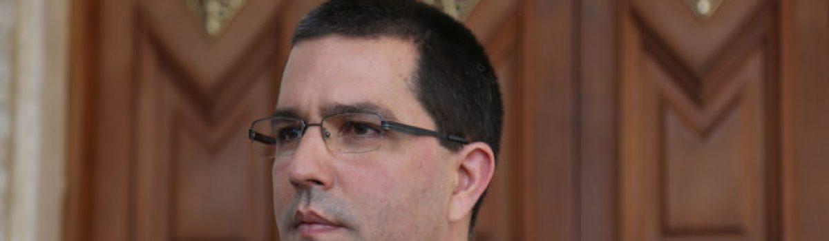 Jorge Arreaza nuevo Ministro de Desarrollo Minero Ecológico