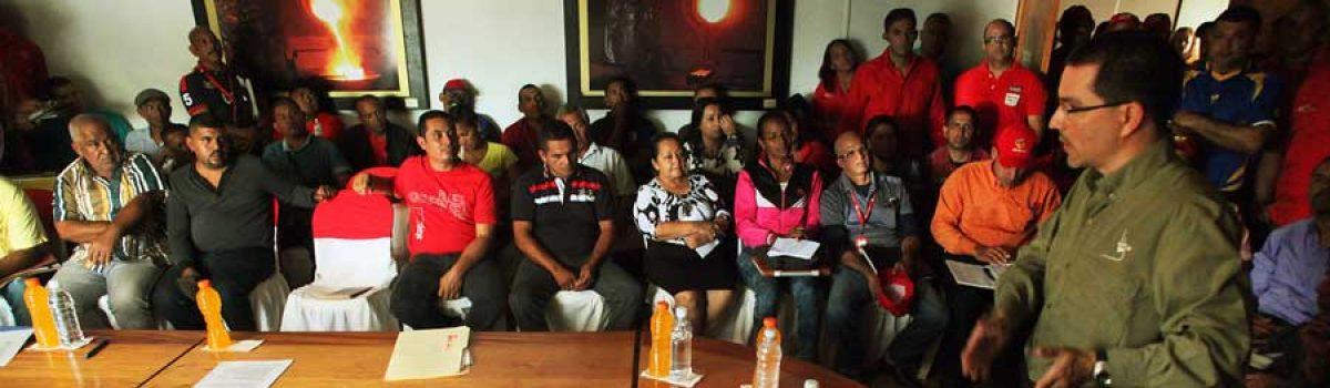 En reunión del Consejo Popular de la Minería ministro Arreaza invitó a aunar esfuerzos para acelerar Plan de Organización y Regularización (Galería)