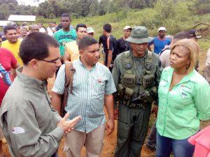 El Ministerio de Desarrollo Minero Ecológico, la Misión Piar y las Fuerzas Armadas unieron esfuerzos (Foto: MppDME)