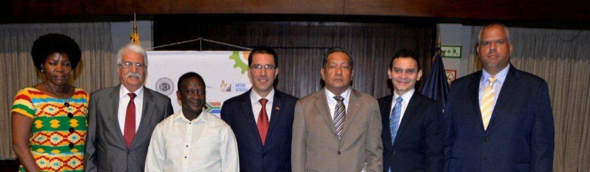 Comisión Venezuela-Sudáfrica estudia mecanismos de inversión en la industria diamantífera