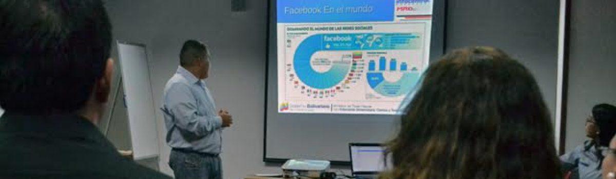 Dictado Primer Taller de Redes Sociales a trabajadoras y trabajadoras del MPPDME