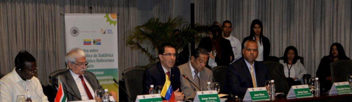 Venezuela y Suráfrica aspiran crear empresa mixta diamantífera en los próximos días