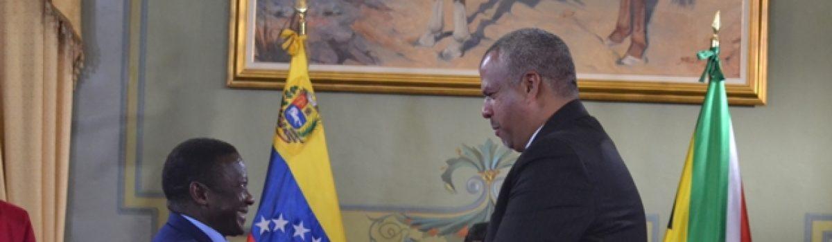 Firmada declaración conjunta de cooperación en materia minera entre Venezuela y Suráfrica