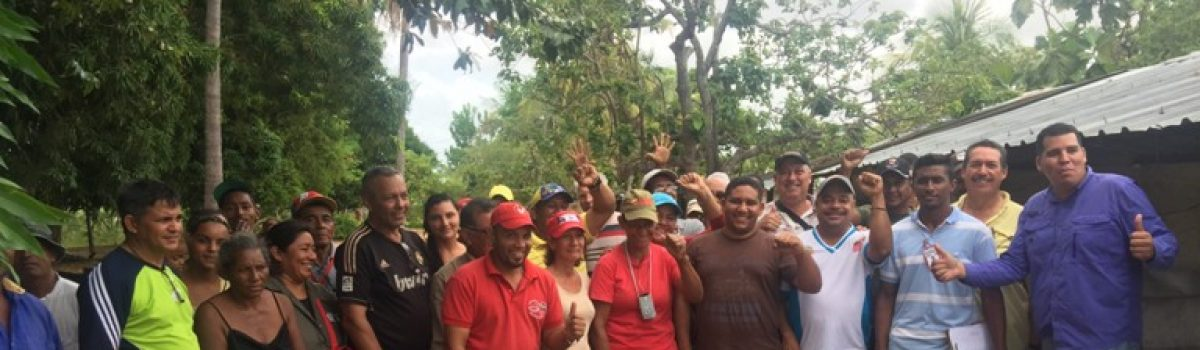 Fundación Misión Piar promueve proyectos socieconómicos en pequeños mineros del  Municipio Angostura, estado Bolívar