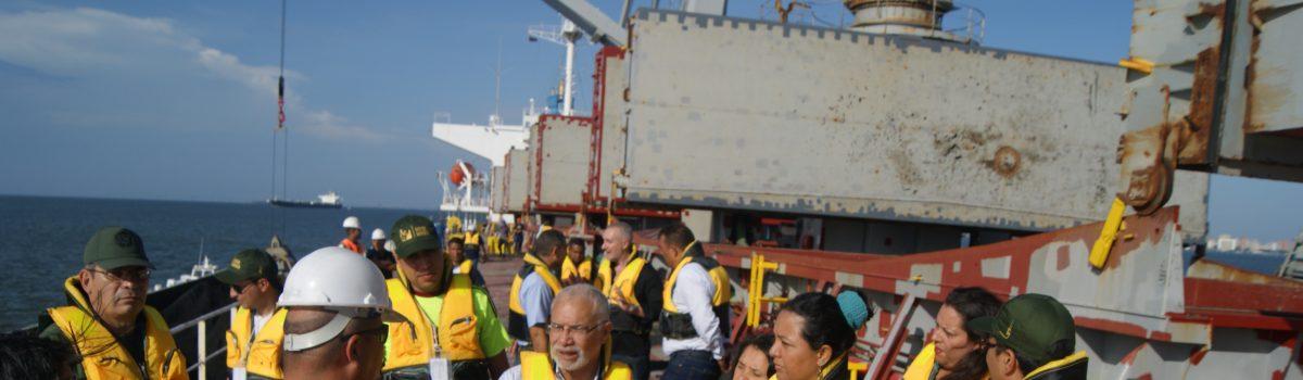 Zarpa el primer buque con Carbón zuliano para el mercado europeo