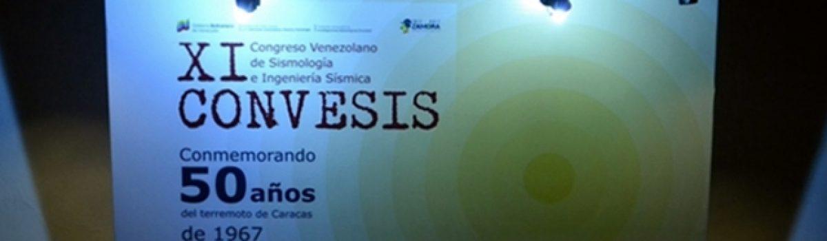 XI Congreso venezolano de sismología e ingeniería sísmica CONVESIS