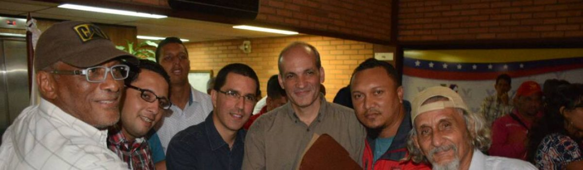 Arreaza: Estamos a días de la victoria del pueblo minero con la Constituyente