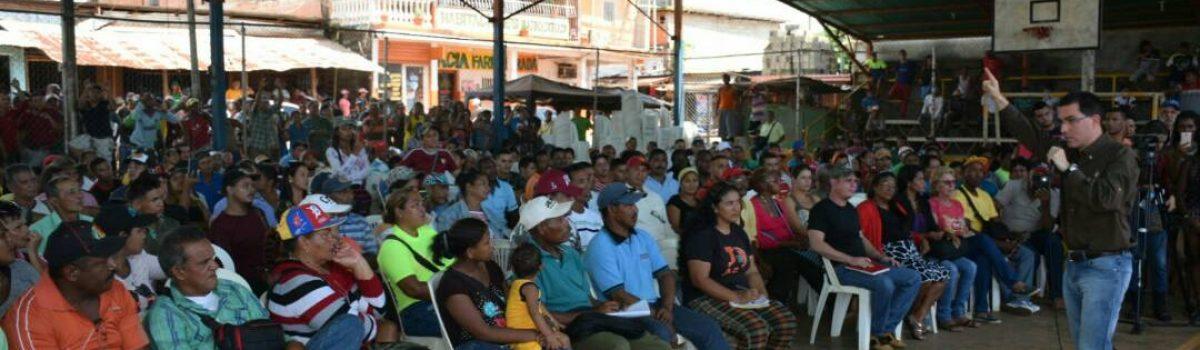 Más de 500 mineros y mineras de Las Claritas realizaron propuestas para la Constituyente