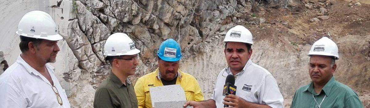 Apertura de cantera de mármol en Anzoátegui