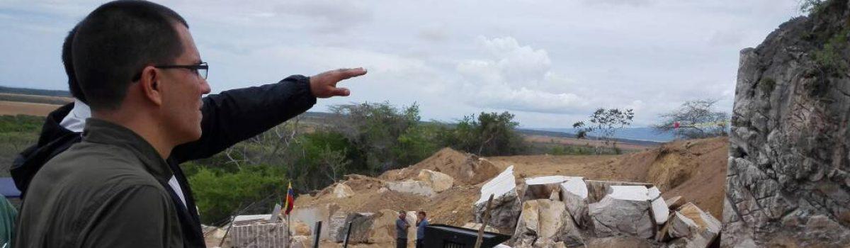 Luego de 51 años de inactividad abren nuevo frente de cantera de mármol