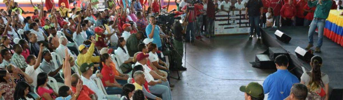 Pobladores de Maripa y Guasipati listos para la victoria del Poder Popular con la ANC