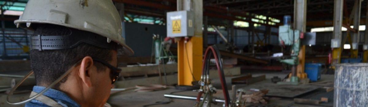 Nuevo castillete para mina Colombia en el Callao registra un avance del 45%
