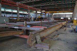 F2 Nuevo castillete para la mina Colombia, en el Callao, registra un avance del 45%