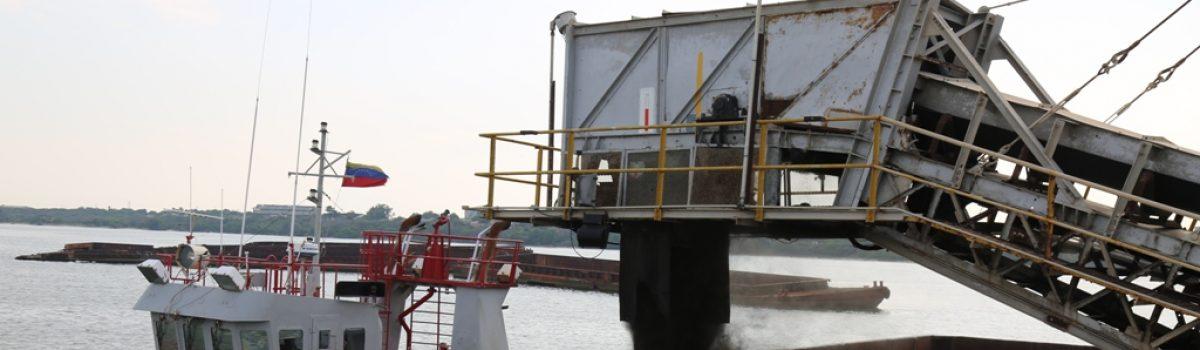 Motor Minero embarca 45 mil toneladas de carbón a Irlanda del Norte