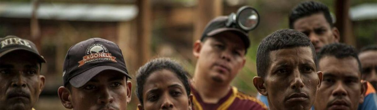 Más de 150 mil mineros apoyan Arco Minero del Orinoco