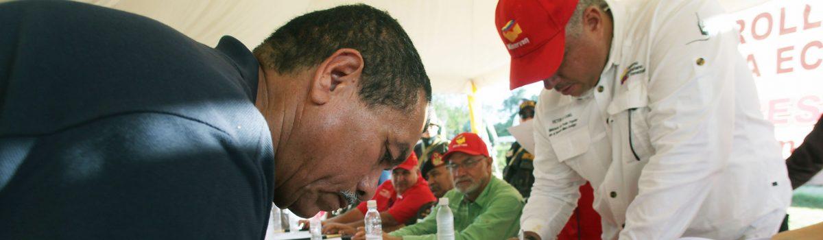 Ministro Cano firmó 22 alianzas con organizaciones de la pequeña minería