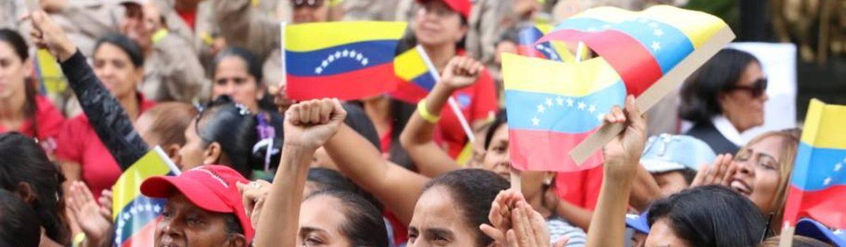 Mujer venezolana es vanguardia de la democracia bolivariana