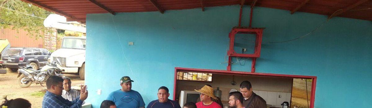 Constituyentes inspeccionaron zonas mineras del estado Bolívar