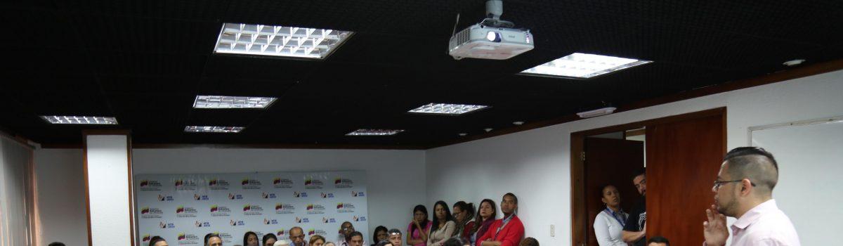 Trabajadores recibieron charla informativa sobre el petro