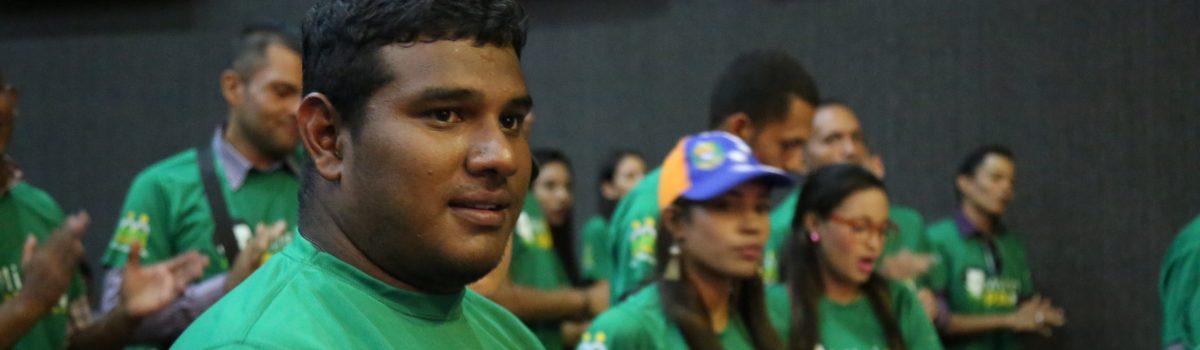 250 chamberos se formaron como promotores mineros en Bolívar