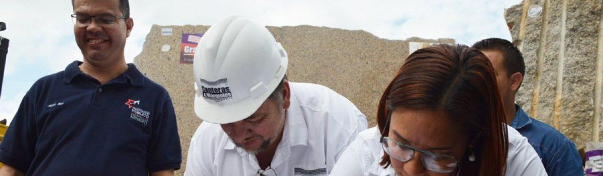 Firman dos alianzas en Cojedes para impulsar aprovechamiento de granito blanco y tradicional