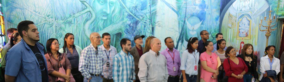 Mppdme realizó visita guiada al Salón de la Patria