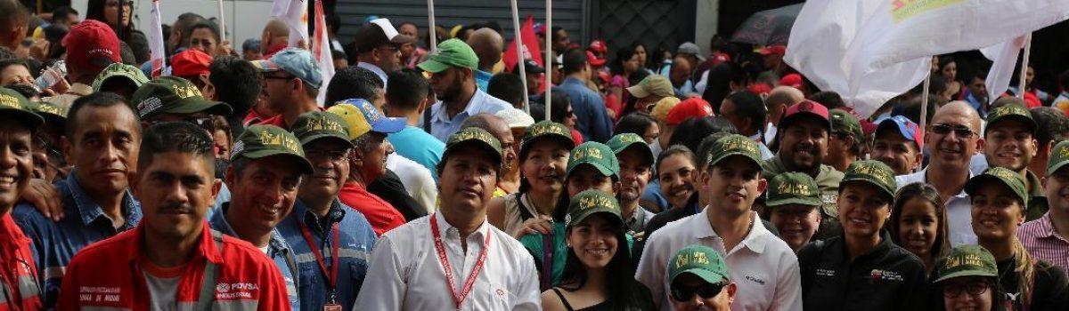 Pueblo minero honra la memoria del Comandante Chávez a 5 años de su siembra