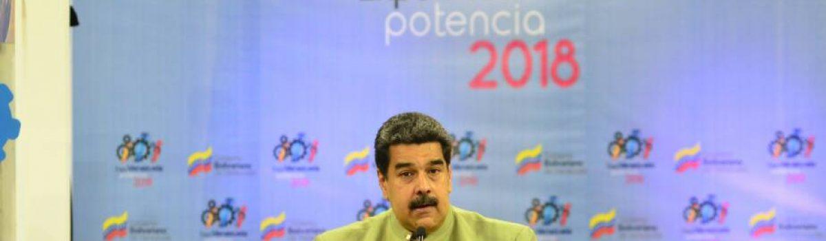 Motor Minero brilla en la Expo Venezuela Potencia 2018