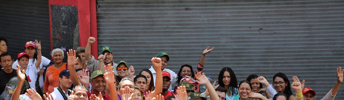 Trabajadores mineros acompañaron al presidente Maduro en su juramentación ante la ANC