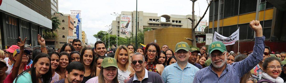 Motor Minero acompañó a Maduro para su proclamación como Presidente reelecto para el período 2019-2025
