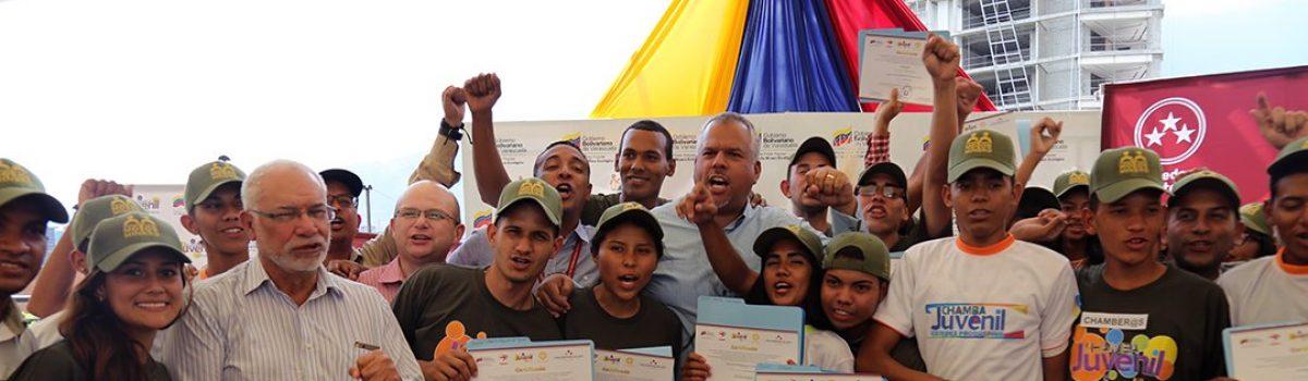 700 jóvenes de la Chamba Minera obtuvieron 30 millardos de bolívares para proyectos socioproductivos