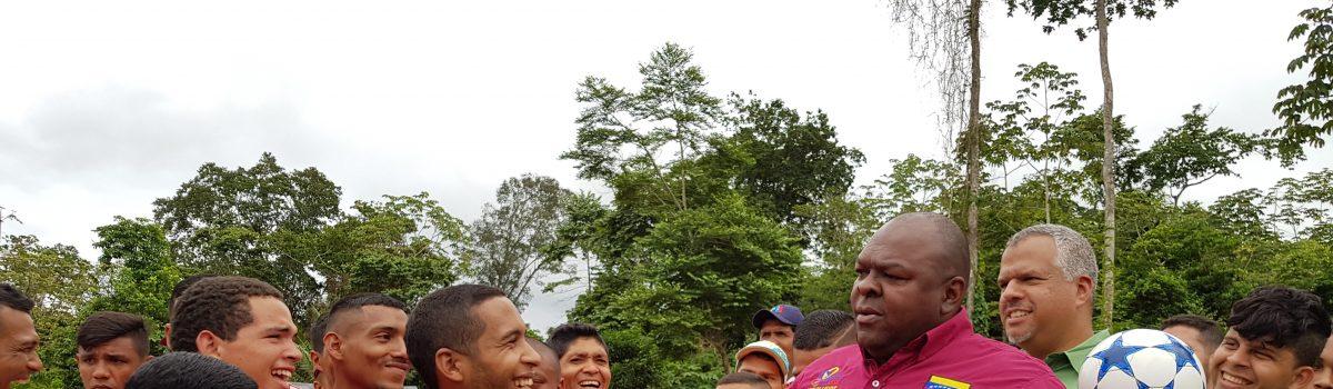 Movimiento por la Paz abre más puertas a poblaciones mineras