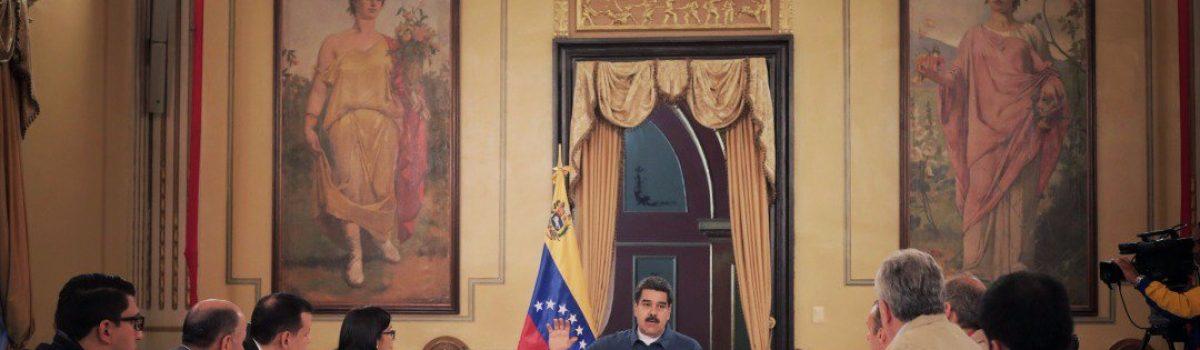 Presidente Maduro pide aumentar la producción petrolera y minera