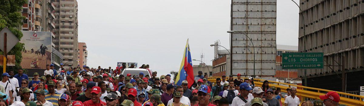 Motor Minero marchó en favor de la paz y en repudio a la violencia