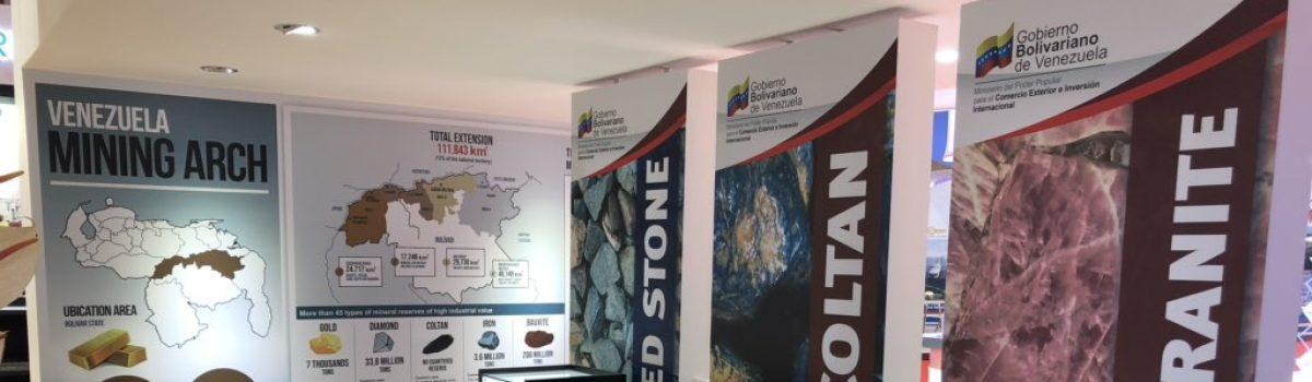 Motor Minero promueve potencial de Venezuela en Exposición Internacional de Importaciones de China