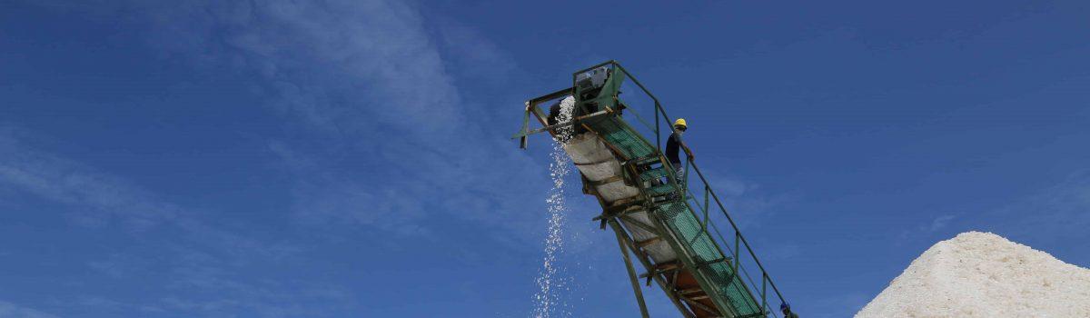 Activada producción industrial de sal en la mina Las Cumaraguas