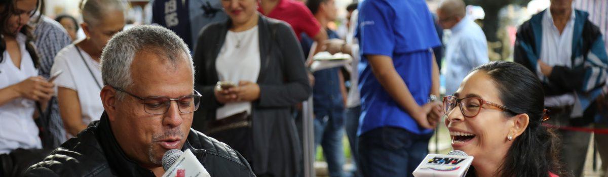 En la bulla brilló desde el casco histórico de Caracas