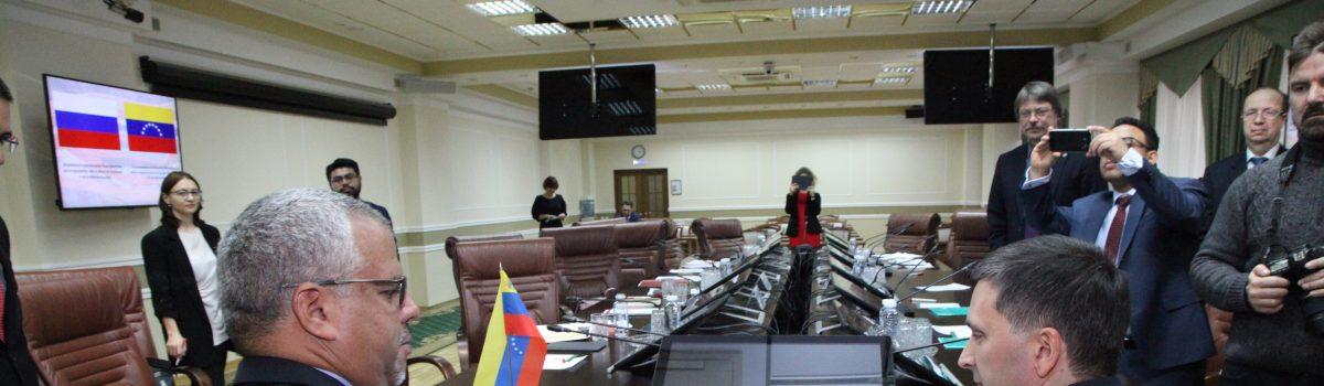 Venezuela y Rusia firmaron histórico convenio de cooperación geológica y minera