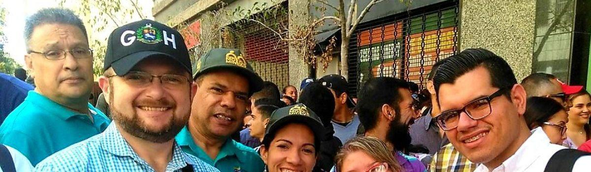 Trabajadores mineros acompañaron al presidente Nicolás Maduro ante la ANC