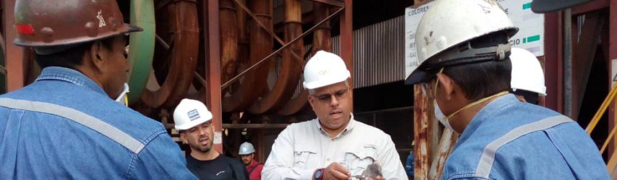 Venezuela optimiza líneas de producción de ferroníquel