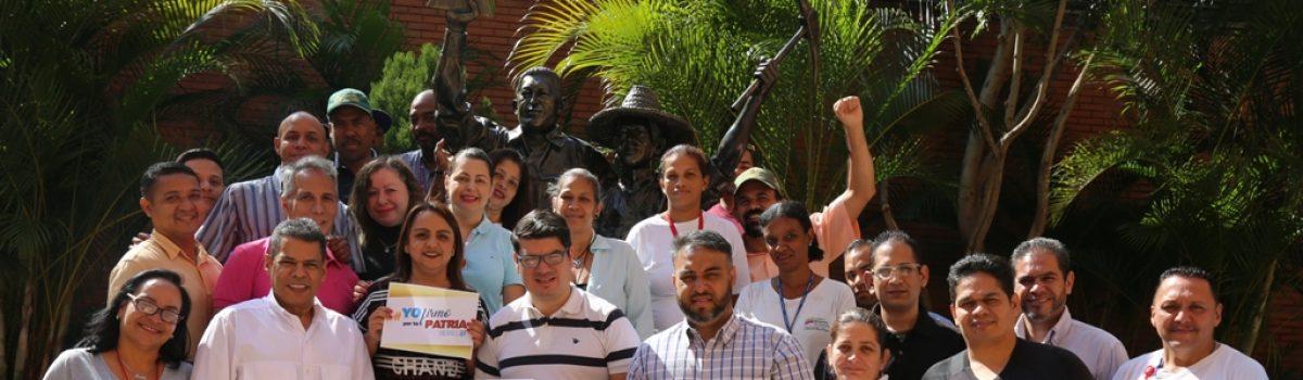 Trabajadores mineros certificaron su compromiso de lucha en contra de las agresiones imperialistas
