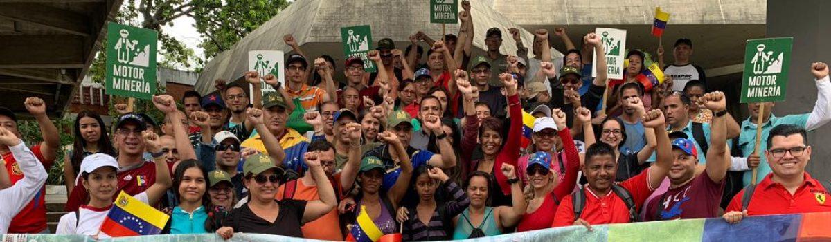 Pueblo trabajador minero ratifica su apoyo al Gobierno bolivariano