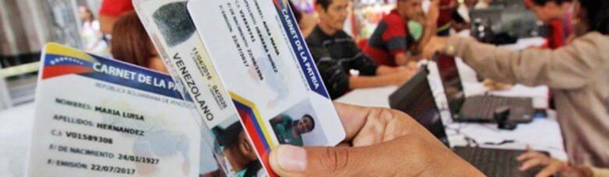 Misión Somos Venezuela realizó jornada de actualización de Carnet de la Patria