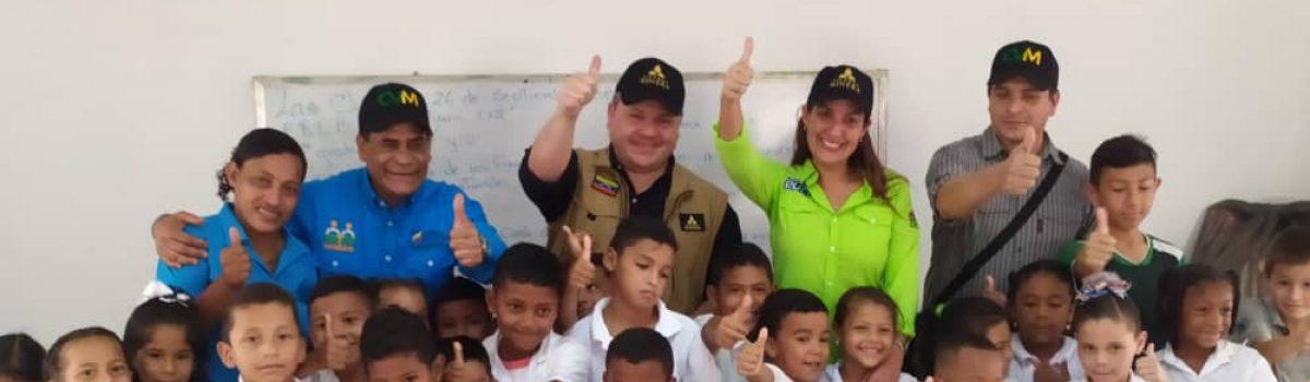 Siembra Minera rehabilitó cuatro escuelas en Las Claritas