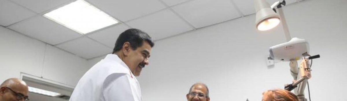 Presidente Nicolás Maduro relanza Misión Milagro