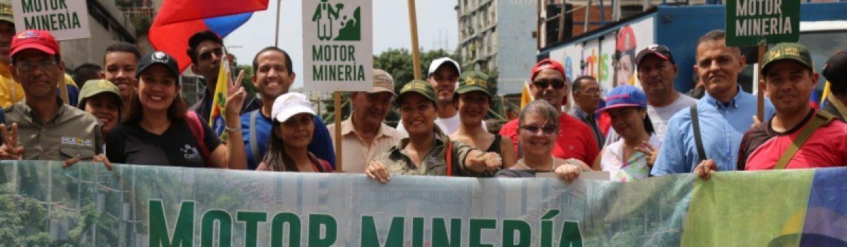 """Motor Minero presente en """"Marcha Internacional: Los comuneros marchan contra el imperio, por la paz y la unidad de los pueblos"""""""