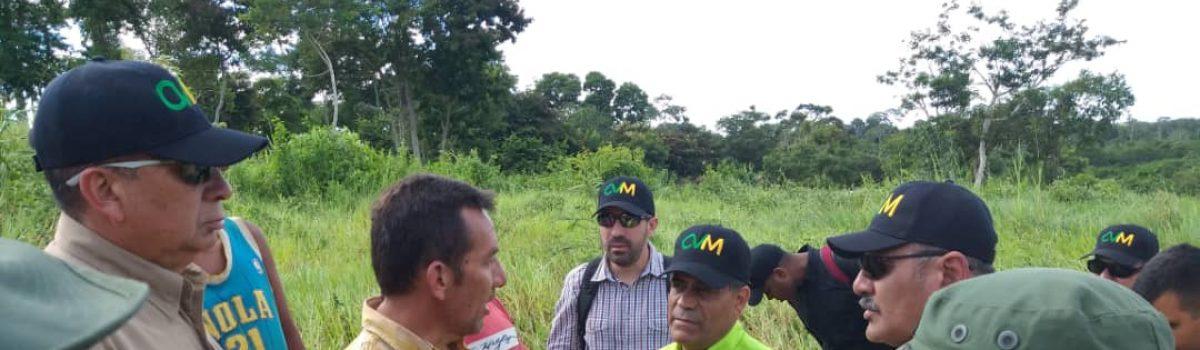Plan Minero Tricolor avanza: Inspección a yacimientos del estado Bolívar