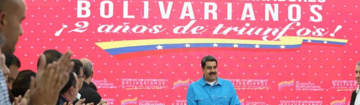 "Presidente Nicolás Maduro aprobó entrega de una mina de oro ""Productiva a cada Gobernación Bolivariana"""