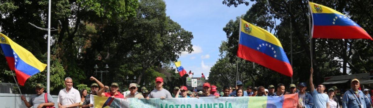 Motor Minero demostró su apoyo a Evo Morales