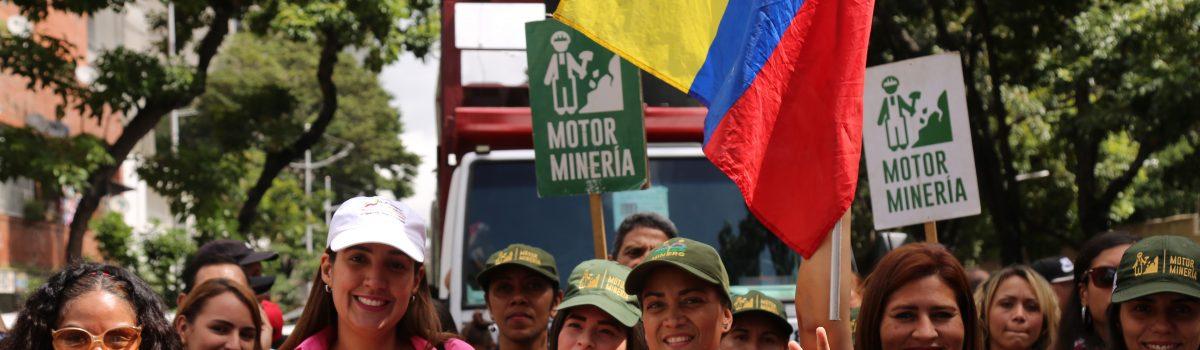 Mujeres mineras se movilizaron contra la violencia femenina